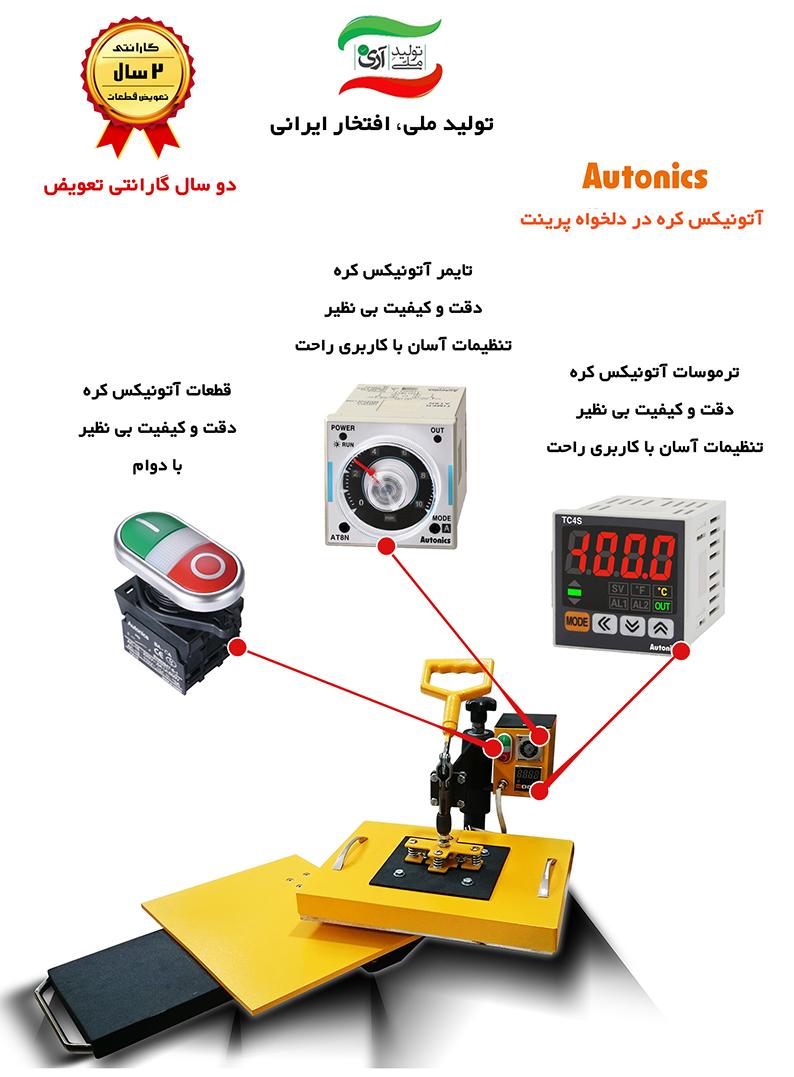 دستگاه چاپ حرارتی ۴کاره دستگاه چاپ حرارتی ۴کاره DelkhahPrint 2017 02 For Site
