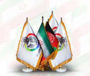 چاپ روی پرچم تشریفات و رومیزی1